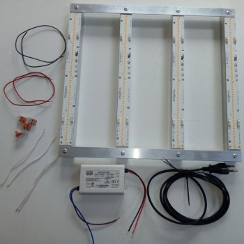 KIT DIY - 4 Strips 28cm Lm561C 35W